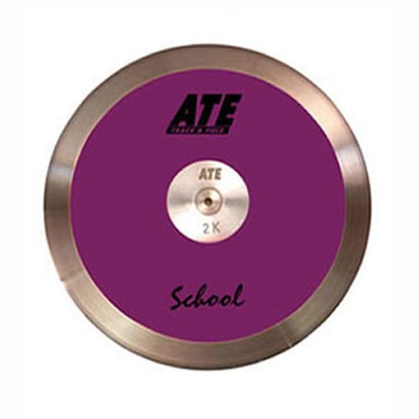 ATE School Purple Discus