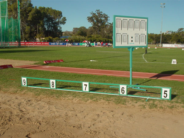 Long Jump and Triple Jump Distance Marker Board 5m