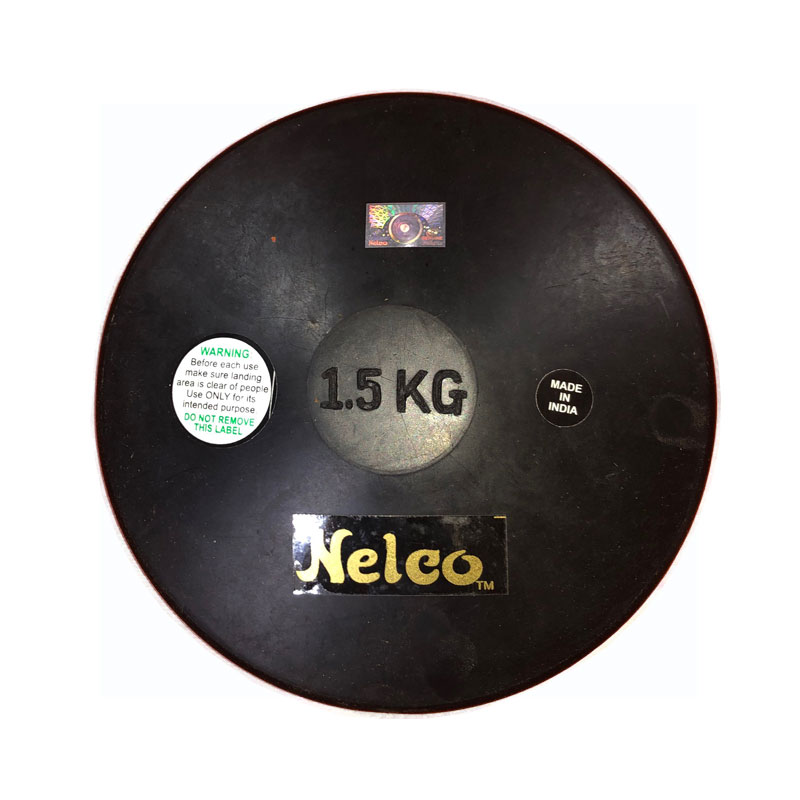 Nelco Rubber Training Discus