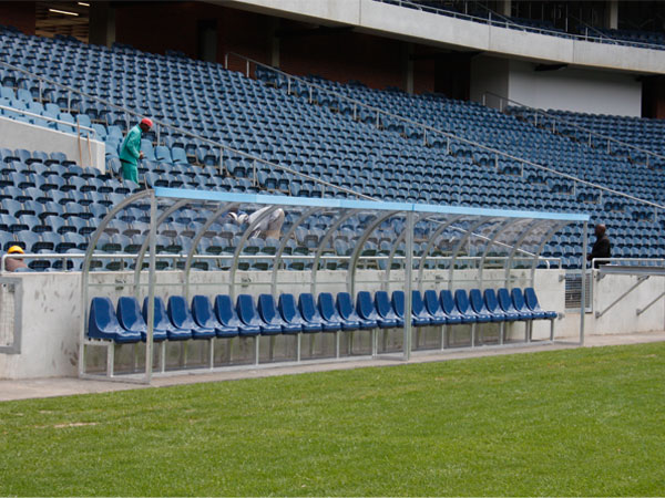 Soccer Shelter 12 Man Seater