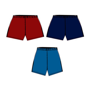 Panelled Athletics Running Shorts - Junior