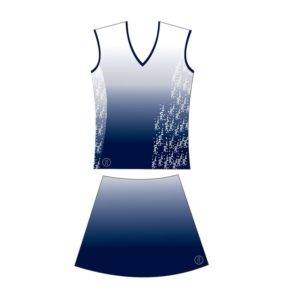 Netball Sublimated Collared Kit