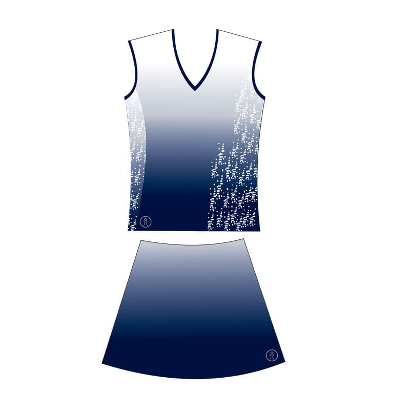 Netball Sublimated Collared Junior Kits