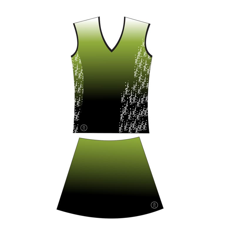 Netball Sublimated Collared Senior Kits