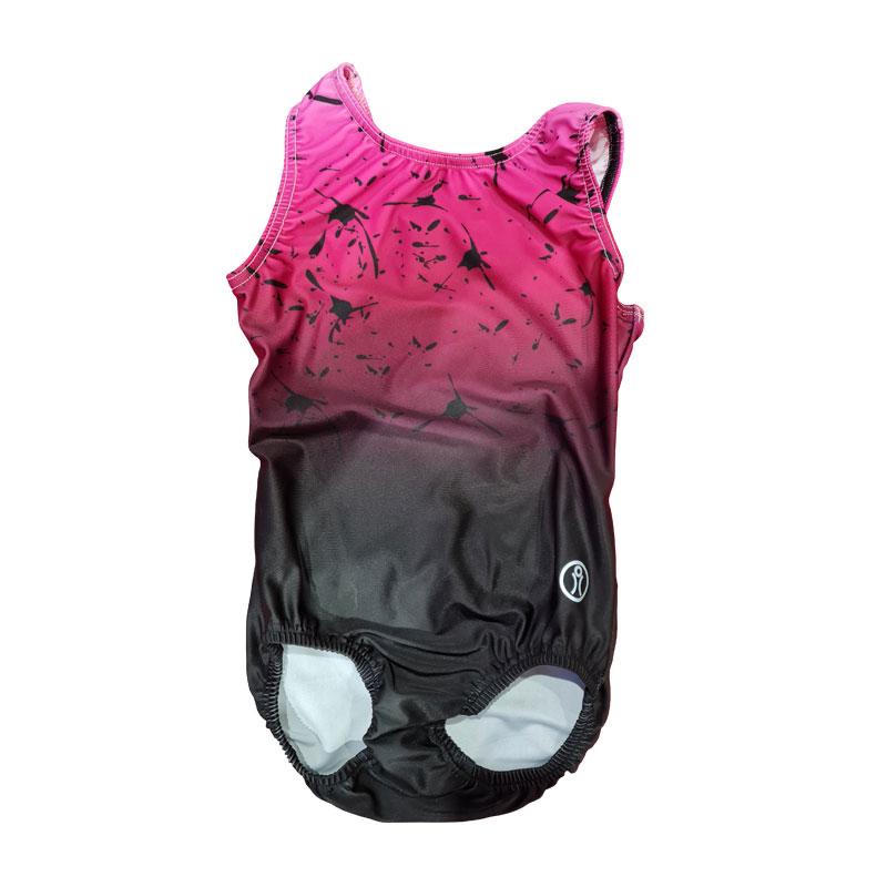 Short Sleeve Sublimation Leotard Size 9 Pink Splash – Matt PFP
