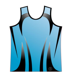 Sublimated Light Blue Athletics Vest