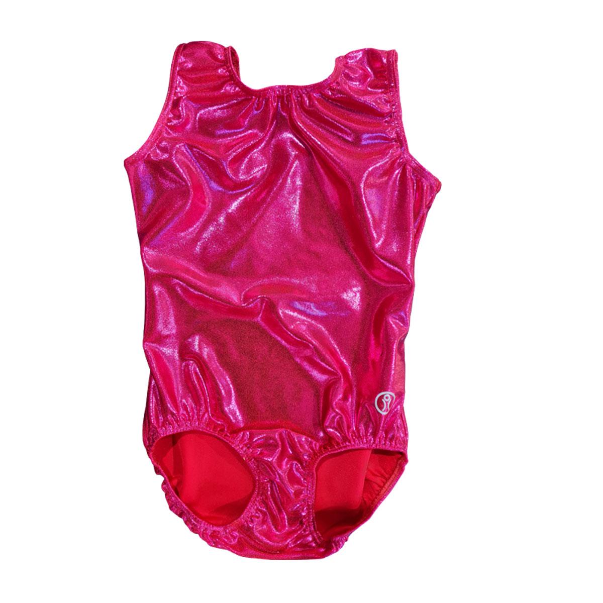 Short Sleeve Leotard Size 13 – Pink Sparkle Glitz