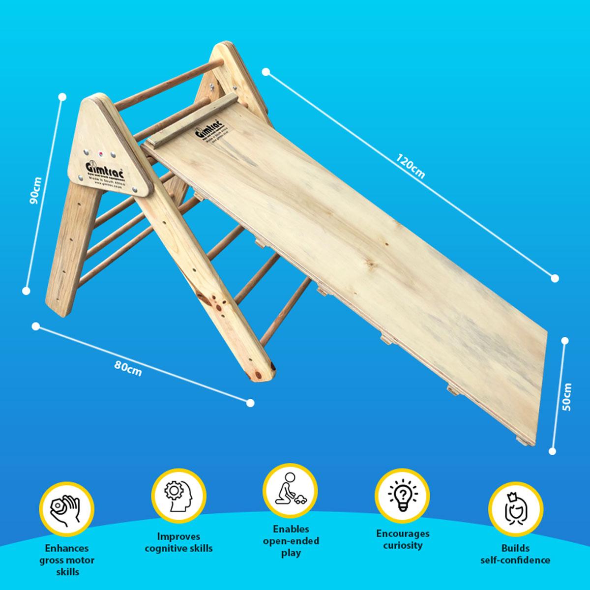 Pickler Triangle for Toddler with Slide